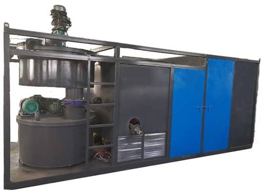 KH-100型环保无尘气泡轻质土生产